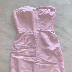 🆕*J. Crew* Blush Pink Strapless Dress